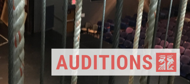 Auditions are by video submission and are due December 13