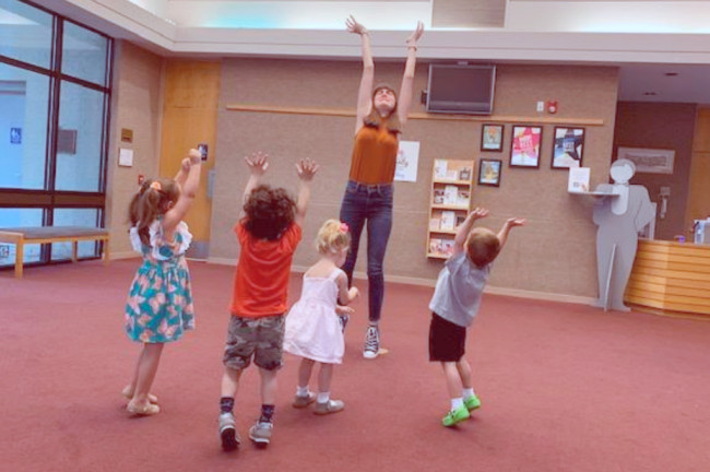 Upcoming weekend class offered for age 2-4 and caretakers + summer camp!