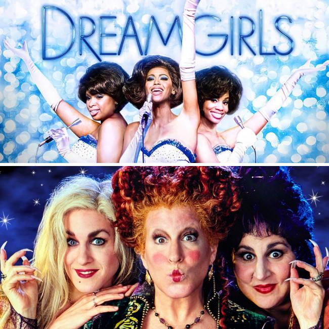 Dreamgirls and Hocus Pocus